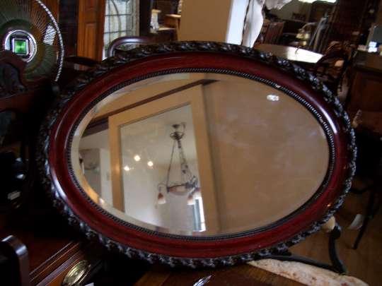 Mirror Edwardian Rosewood